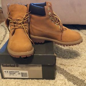 Classic timberland waterproof boots